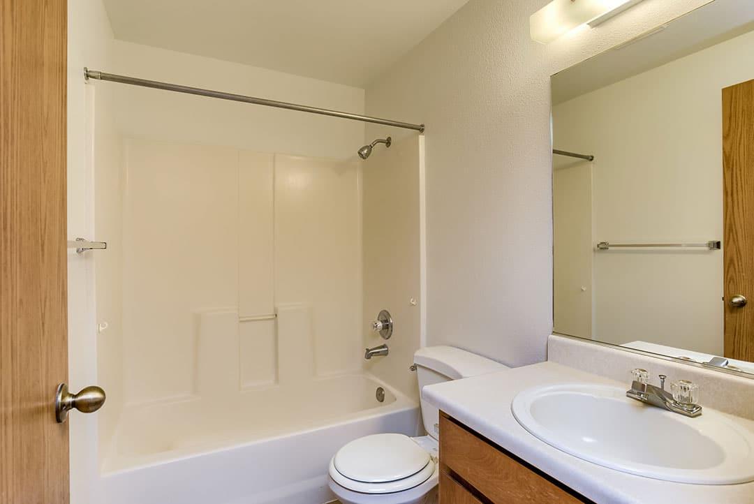 Hall bath...